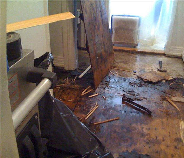 Water Damage Do you use a Contractor or SERVPRO?